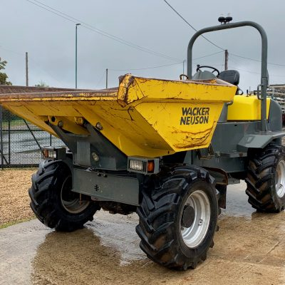2014 Wacker Neuson 6001 S Swivel Dumper